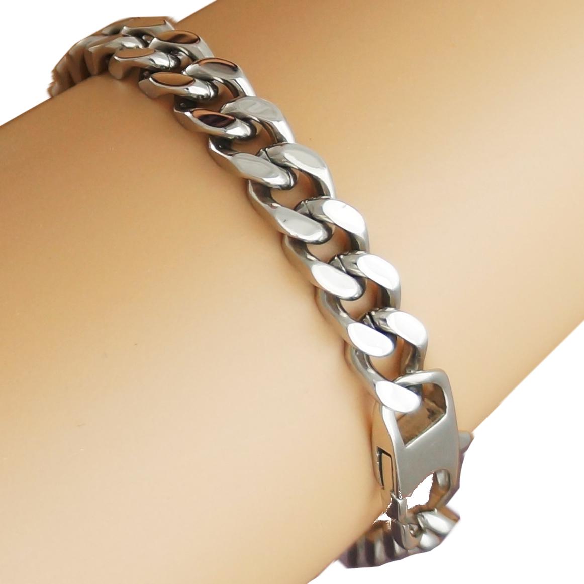 schmuck edelstahl panzerkette panzerarmband kette armband. Black Bedroom Furniture Sets. Home Design Ideas