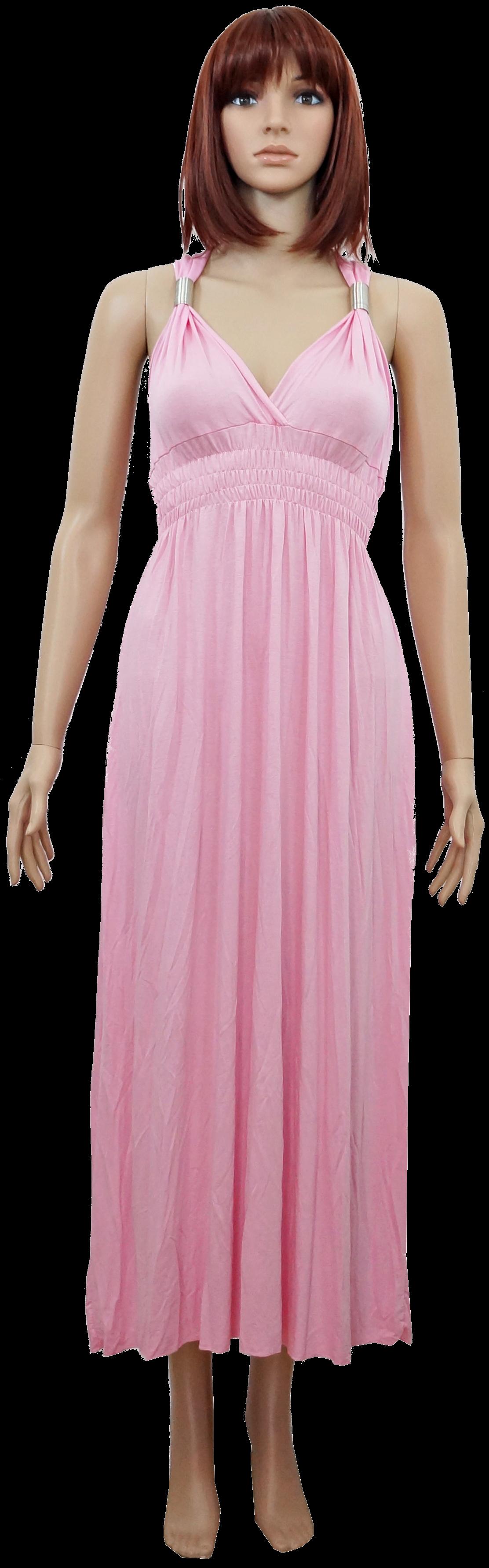 Maxikleid Empirekleid Empire Sommer Strandkleid lang Maxi Kleid XS ...